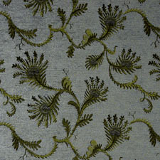 Fern Blue jacquard fabric