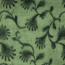 Fern Bluegrass jacquard fabric