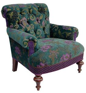 Bohemian - jacquard fabric Middlebury chair