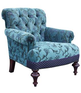 Seamist - jacquard fabric Middlebury chair