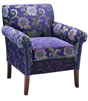 Clematis - handcrafted upholstered Salon chair