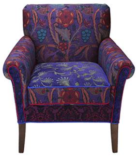 Concord - jacquard fabric Salon chair