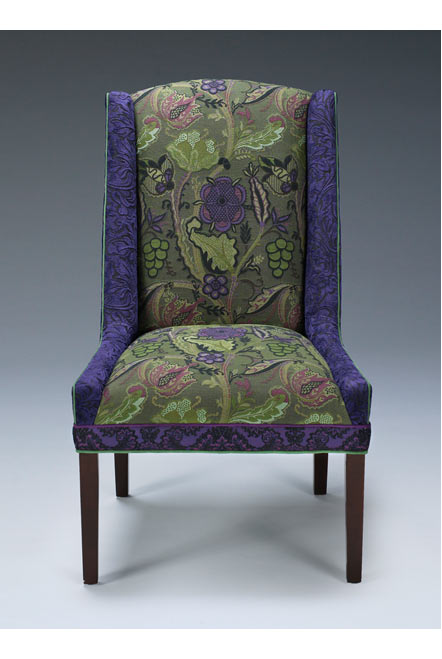 Sage - handcrafted upholstered Windham chair