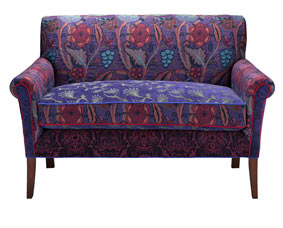 Concord Jacquard Woven Settee