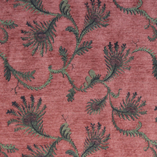Fern Corinth jacquard fabric