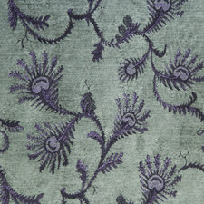 Fern Highland Green jacquard fabric