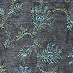Fern Pewter jacquard fabric